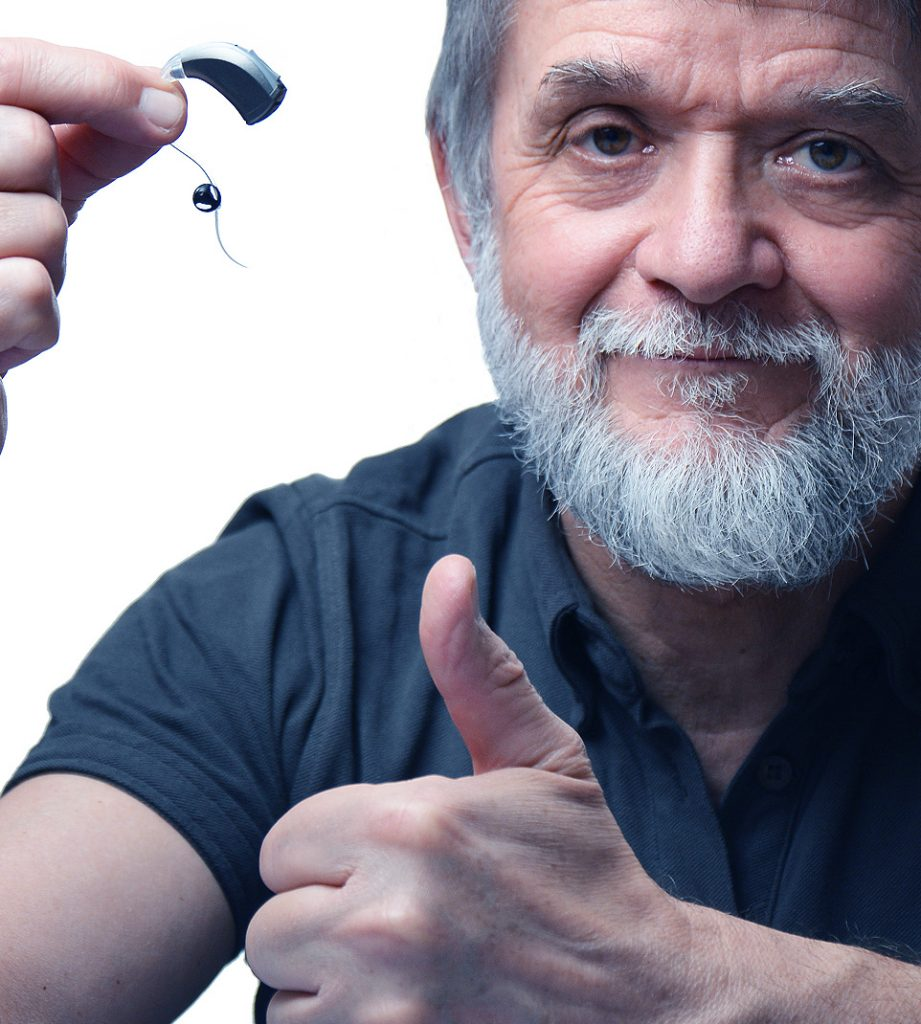 Man pleased with hearing aid repairs